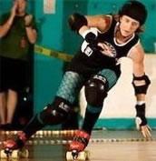 Roller Derby Laura Madson