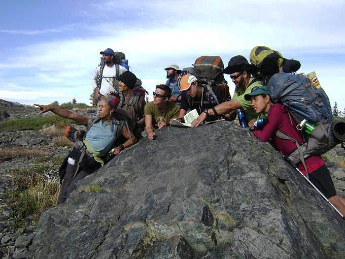 Teachers and youth workers on a five-day Wilderness Leadership Training Course. Photo courtesy of Bay Area Wilderness Training