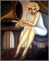 """""""Crooner"""" by Teresa Moore"""