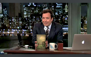 Jimmy Fallon features book by Melissa Haynes