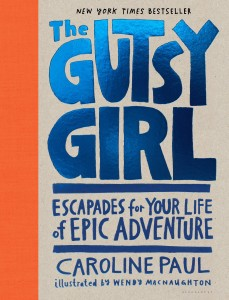 Gutsy Girl, The jacket art